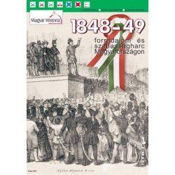 1848-49 forradalom és szabadságharc Magyarországon térkép Magyar História Stiefel