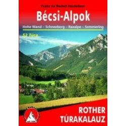 Bécsi-Alpok túrakalauz Freytag