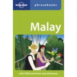 Lonely Planet maláj szótár Malay Phrasebook & Dictionary