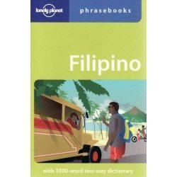 Lonely Planet szótár Filipino (Tagalog) Phrasebook & Dictionary