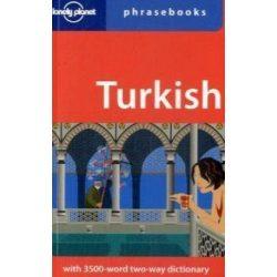 Lonely Planet török szótár Turkish Phrasebook & Dictionary