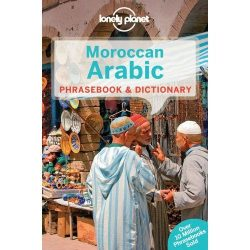 Lonely Planet marokkói arab szótár Moroccan Arabic Phrasebook & Dictionary