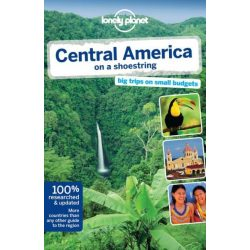 America Central America on a Shoestring Lonely Planet útikönyv 2013 akciós
