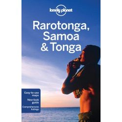 Rarotonga Samoa Tonga Lonely Planet útikönyv 2016