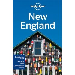 New England útikönyv Lonely Planet  USA 2014 akciós