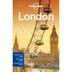 London útikönyv Lonely Planet útikönyv 2014 akciós