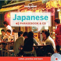 Lonely Planet japán szótár és CD Japanese Phrasebook & Dictionary and Audio CD