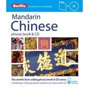 Berlitz kínai mandarin szótár CD Chinese Phrase Book & CD