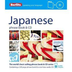 Berlitz japán szótár és CD Japanese Phrase Book & CD