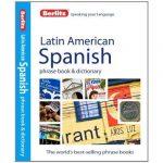 Berlitz latin-amerikai spanyol szótár Latin American Spanish Phrase Book Dictionary