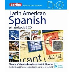 Berlitz latin-amerikai spanyol szótár cd Latin American Spanish Phrase Book & CD