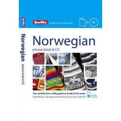 Berlitz norvég szótár és CD Norwegian Phrase Book & CD