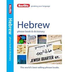 Berlitz héber szótár Hebrew Phrase Book & Dictionary