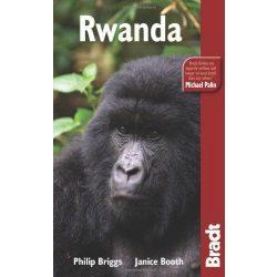 Ruanda Rwanda útikönyv Bradt 2009 - angol