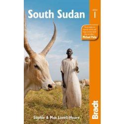 Dél-Szudán South Sudan útikönyv Bradt 2013 - angol