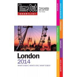 Time Out útikönyv Shortlist London guide Time Out 2013
