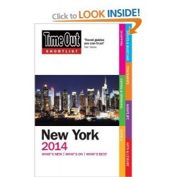 Time Out útikönyv Shortlist New York 2013
