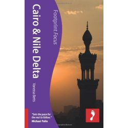 Cairo & the Nile Delta Kairó útikönyv Footprint Focus Guide, angol 2012