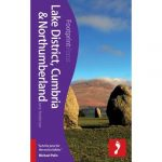 Lake District, Cumbria & Northumberland  útikönyv Footprint Focus Guide, angol 2013