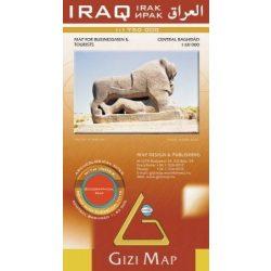 Iraq térkép Gizi Map 1:1 750 000