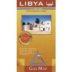 Libya térkép Gizimap 1:1 750 000