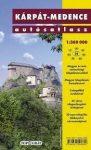 Kárpát - medence atlasz Nyír-Karta  1:360 000