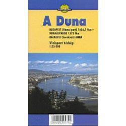 Duna vízitérkép 3. Paulus Ráckevei Duna  térkép 1:25 000