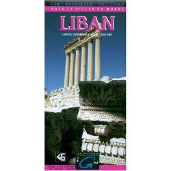 Libanon térkép I.G.N. 1:200 000