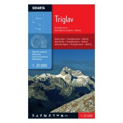 Triglav turista térkép Sidarta 1:25 000 Triglav térkép