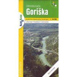 Goriska turista térkép Planinska zveza Kod and Kam 1:50 000