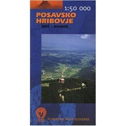 Posavsko turista térkép Planinska zveza Kod and Kam 1:50 000