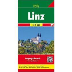 Linz térkép Freytag & Berndt 1:15 000