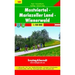 RK 101 Mostviertel kerékpáros térkép Freytag & Berndt 1:100 000