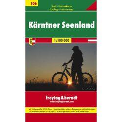 RK 106 Karintiai tóvidék, 1:100 000 kerékpáros térkép Freytag & Berndt 1:100 000