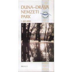 Duna-Dráva Nemzeti Park térkép Paulus 1:60 000