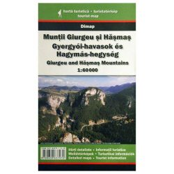 Gyergyói-havasok térkép és Hagymás-hegység térkép Dimap Bt. 2017  1:60 000