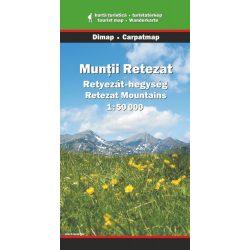 Retyezát-hegység térkép Dimap Bt. 2008 1:50 000