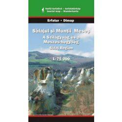 Szilágyság és Meszes-hegység térkép Dimap Bt. 2009 1:75 000