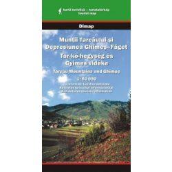 Tar-kő hegység és Gyimes vidéke térkép Dimap Bt. 2006 1:60 000