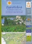 Loire Radweg kerékpáros térkép Huber 1:100 000 EuroVelo 6
