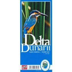 Duna Delta turista térkép Schubert-Franzke 1:150 000 2016
