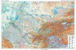 Central Asia autós falitérkép Gizi Map 1:1 750 000