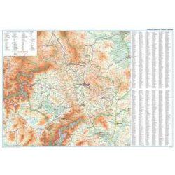 Kosovo falitérkép Gizi Map 1:250 000