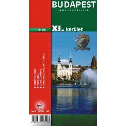 Budapest XI. kerület térkép Topopress 1:11 000