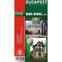Budapest XVI-XVII. kerület térkép Topopress 1:11 000