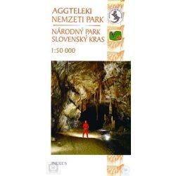 Aggteleki Nemzeti Park térkép Paulus 1:50 000