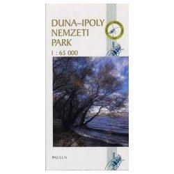 Duna-Ipoly Nemzeti Park térkép Paulus 1:65 000
