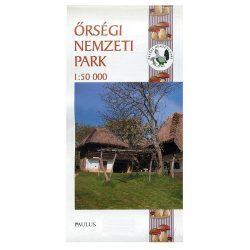 Őrségi Nemzeti Park térkép Paulus 1:50 000