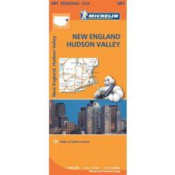 New England térkép Michelin 1:500 000