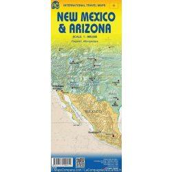 New Mexico atlasz térkép ITM 1:12 500, 1:720 000